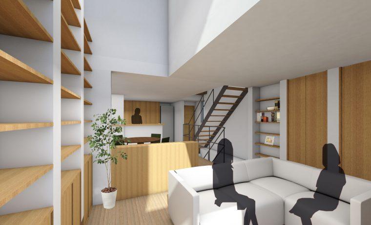 WHALE HOUSE ホエールハウスのModel Plan