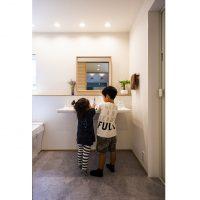施工事例洗面室