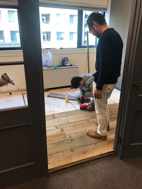 事務所DIY