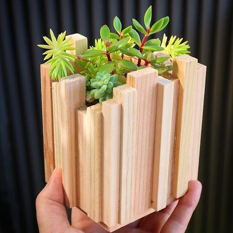 植木鉢カバー作り